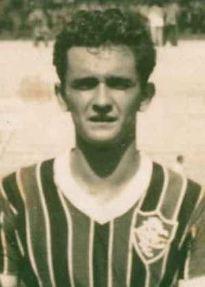 A primeira participação do futebol brasileiro em Olimpíadas aconteceu nos jogos de Helsinque em 1952. O Fluminense teve quatro jogadores. O artilheiro foi o atacante Larry.