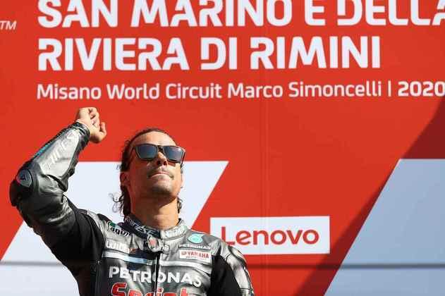 A primeira vitória de Franco Morbidelli na MotoGP veio em sua terceira temporada na classe rainha, no GP de San Marino