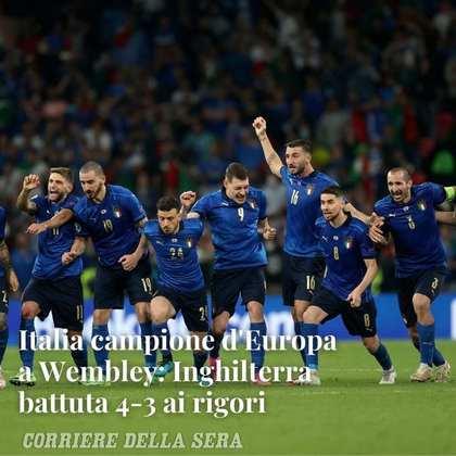 A publicação do tabloide italiano