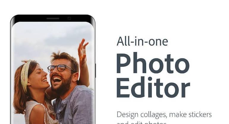 A qualidade da Adobe está presente neste aplicativo, que contém mais de 40 efeitos e traz mais realismo às fotos. Ele também tem funções de ajustes, como retirar manchas, sujeiras etc. Adobe Photoshop Express tem mais de 100 milhões de downloads na Play Store.