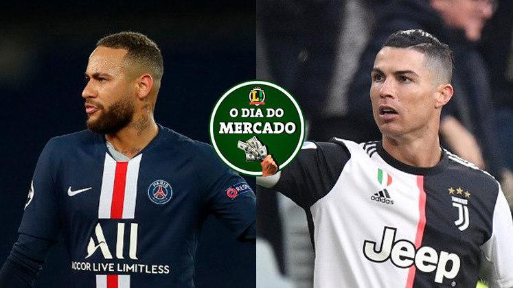 A quarta-feira trouxe importantes atualizações sobre Neymar e Cristiano Ronaldo. Além disso, Vasco e Palmeiras anunciaram novos reforços. Confira essas e outras informações do vaivém no resumo do Dia do Mercado!