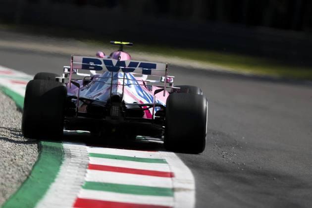 A Racing Point espera conseguir melhor resultado na Itália do que o obtido na Bélgica