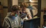 A Rede Social (2010) conta a história da criação do Facebook. A direção é de David Fincher, que foi indicado pelo filme em 2011, e concorre novamente neste ano por Mank