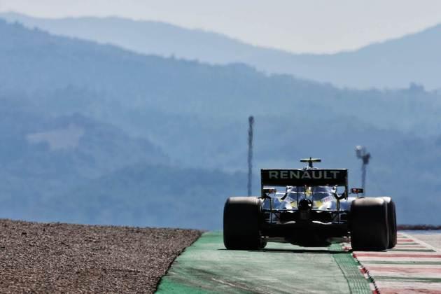 A Renault colocou mais uma vez seus dois pilotos no top-10