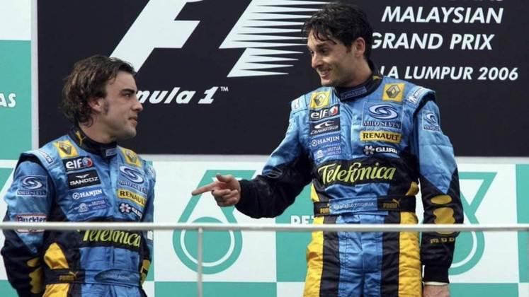 A Renault tinha o então campeão mundial Fernando Alonso junto do italiano Giancarlo Fisichella.