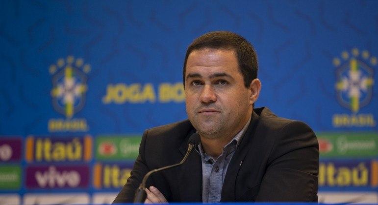 André jardine, técnico da seleção brasileira olímpica.
