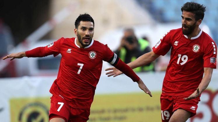 A seleção libanesa de futebol não possui muita tradição, no entanto, participou de duas Copas da Ásia, uma em 2000 e outra em 2019.