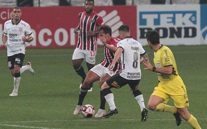 A sequência, porém, foi quebrada no último domingo (2), no empate por 2 a 2 contra o Corinthians, na Neo Química Arena.