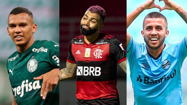 A Série A do Campeonato Brasileiro 2021 começa no sábado (29). Aproveitando o início do campeonato nacional, confira os jogadores mais valiosos da competição, segundo o site Transfermarkt