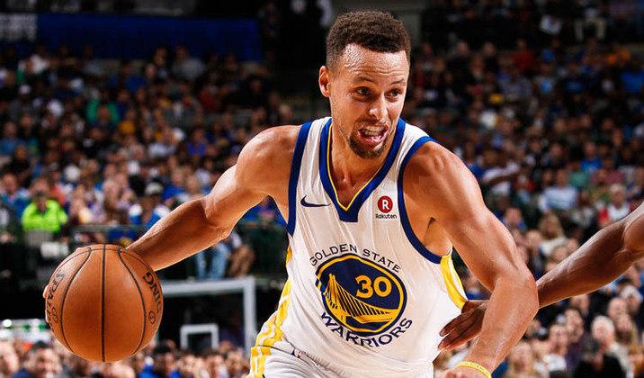 A sexta colocação é de Stephen Curry, armador do Golden State Warriors. O jogador de basquete ganhou em doze meses R$ 405,2 mi aproximadamente, juntando salários, bônus e patrocínios.