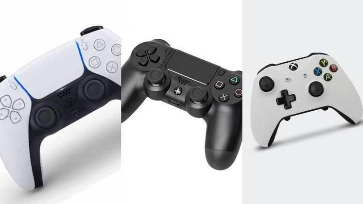 A Sony revelou o novo controle DualSense para o PlayStation 5. O LANCE! mostra nesta galeria a evolução dos controles dos videogames.