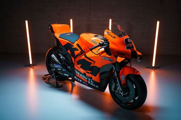 A Tech3 apresentou layout totalmente renovado completamente laranja