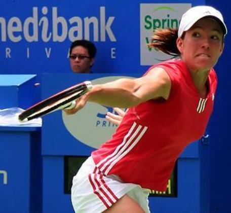 A tenista Justine Henin-Hardenne foi a vencedora do Prêmio Laureus em 2008. Nos Jogos Olímpicos, a belga foi medalha de ouro em Atenas 2004 na competição de simples