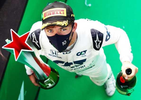 A última vitória de um carro com motor Honda, até o momento, foi o inesperado triunfo de Pierre Gasly, da AlphaTauri, no GP da Itália de 2020