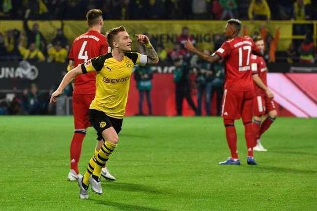 A última vitória do Dortmund ocorreu no último duelo que foi o mandante: 3 x 2 (10/11/2018).