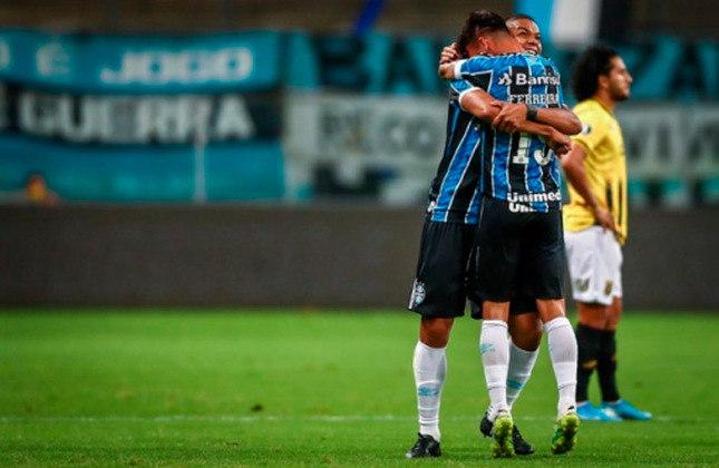 A última vitória gremista na competição foi sobre o Guaraní (PAR) por 2 a 0, pelas quartas de final da edição de 2020/2021.