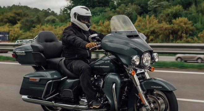 A Ultra Limited é a moto mais cara da linha Touring - R$ 106.500 / Guilherme Veloso/Harley-Davidson do Brasil