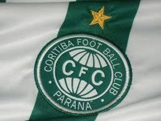 A única estrela dourada no escudo do Coritiba representa a conquista do Campeonato Brasileiro de 1985.