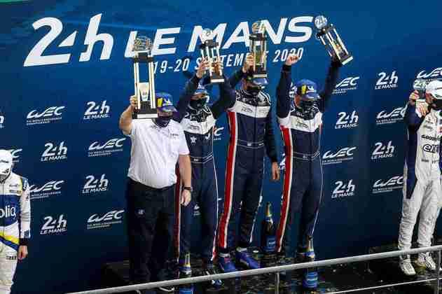 A United Autosports #22 faturou a vitória na classe LMP2
