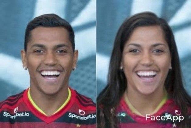 A versão feminina do atacante Pedro Rocha