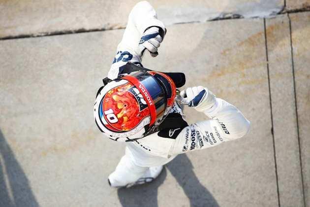 A vibração de Pierre Gasly com a primeira vitória na carreira na Fórmula 1