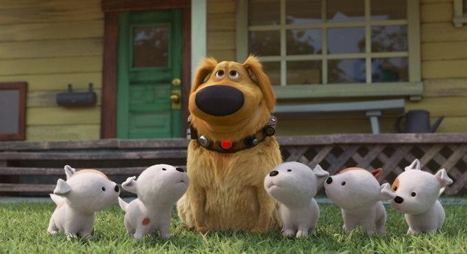 O cachorro falante Dug está de volta em sua própria série animada