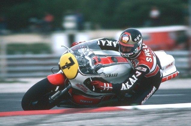 A vitória de número 300 da Yamaha foi dada pelas mãos de Barry Sheene em 1981