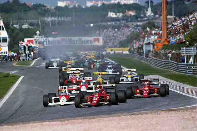 A vitória ficou nas mãos de Gerhard Berger na ocasião. Stefan Johannson, de Onyx, foi ao pódio