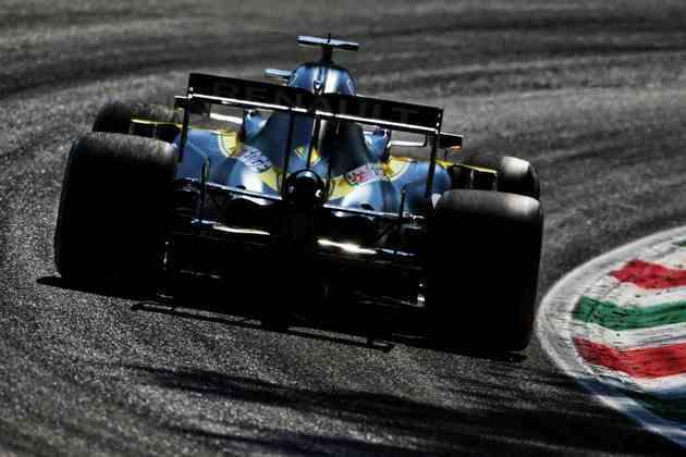 A volta rápida de Ricciardo o colocaria em terceiro na tabela de tempos