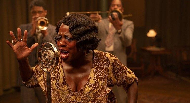 Viola Davis em 'A Voz Suprema do Blues'