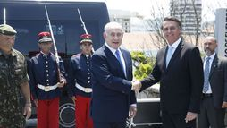 Em Israel, Bolsonaro tratará de tecnologia, defesa, segurança, aviação e saúde (Agência Brasil)