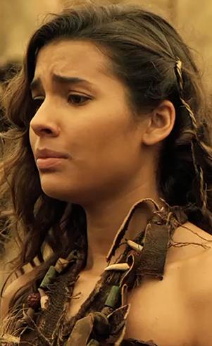 Aba (Ranna Bittencourt): Quarta filha de Adão e Eva.