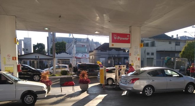 Abastecimento foi liberado na manhã desta terça-feira Crédito: Antonio Sergio / Rádio Difusora / Divulgação