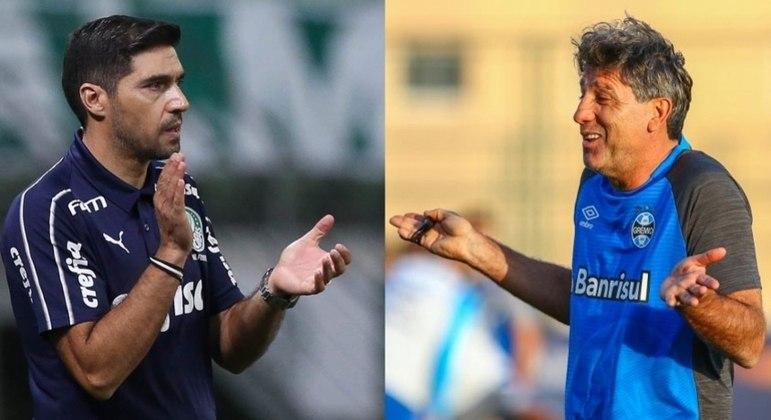 Abel Ferreira e Renato Gaúcho duelarão pelo título da Copa do Brasil