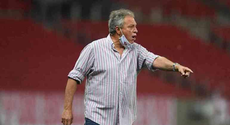 Abel Braga quer o Brasileiro, como nunca. Para mostrar a injustiça que o Inter cometeu