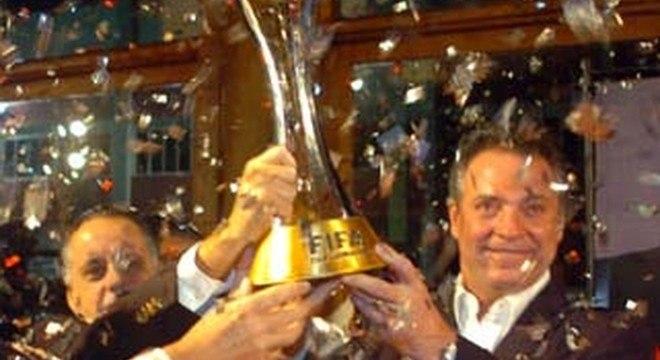 Abel Braga. Campeão do mundo com o Internacional, em 2006