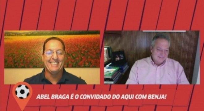 Abel Braga - Aqui com Benja