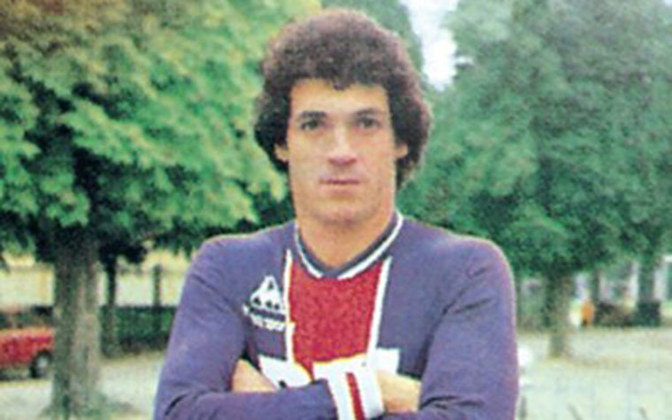 Abel Braga atuou no PSG entre 1979 e 1981.
