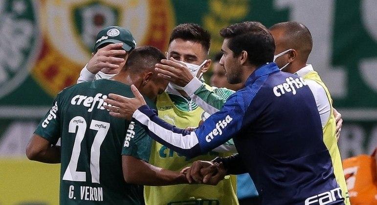 Abel Ferreira tem o domínio completo da equipe. A preocupação é com o lado emocional