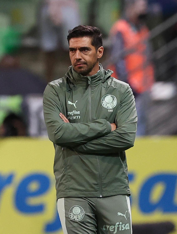Abel Ferreira. As críticas ao treinador português só crescem dentro do Palmeiras