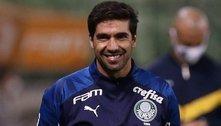 'Gallardo é melhor do que eu. Mas Palmeiras está na final', diz Abel