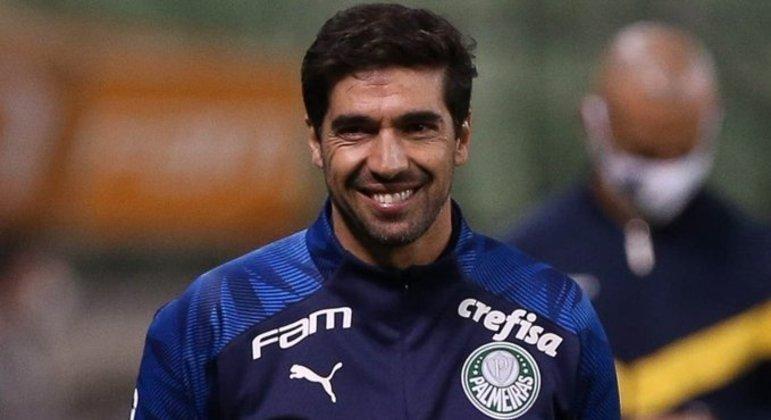Abel Ferreira chega à sua primeira final. Em quatro anos como técnico profissional