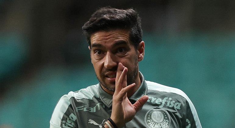 Abel Ferreira colocou culpa do fraco futebol na ausência dos convocados para Eliminatórias