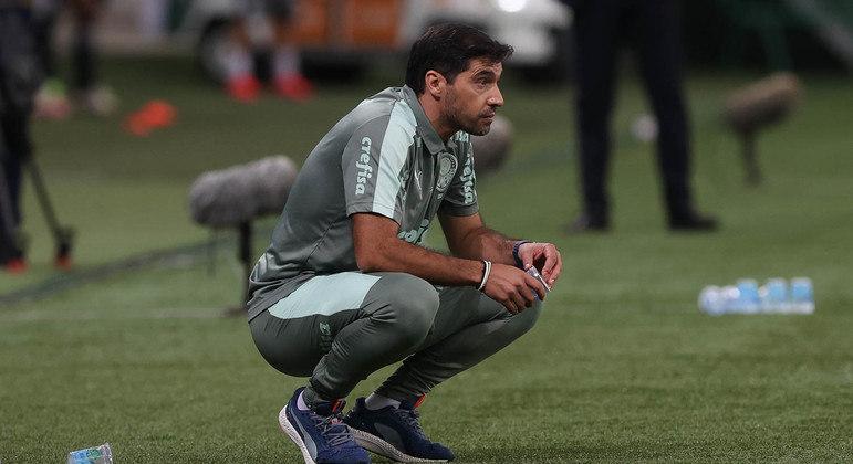 Abel Ferreira vinha sendo muito criticado por torcedores do Palmeiras