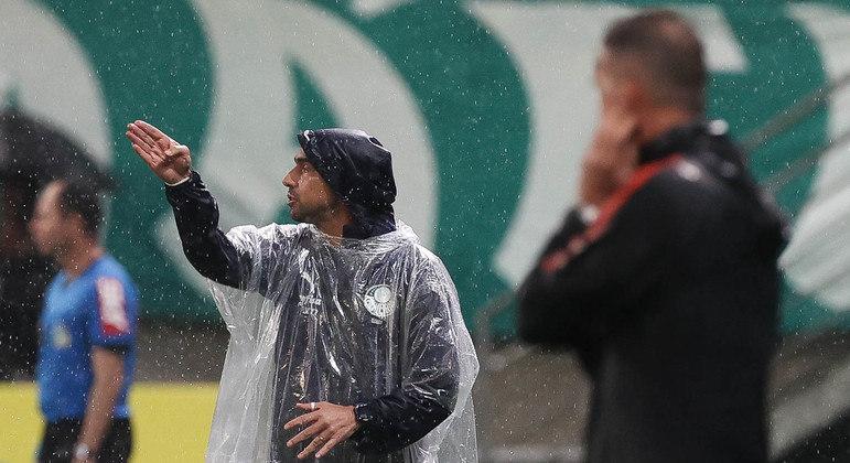 Abel Ferreira surpreendeu Mancini. Palmeiras, do português, quer 'ganhar tudo'