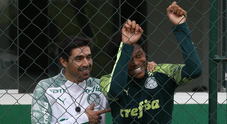 Abel Ferreira não quis perder Luiz Adriano. Ele fica até o final de 2021. Para a Libertadores e Brasileiro
