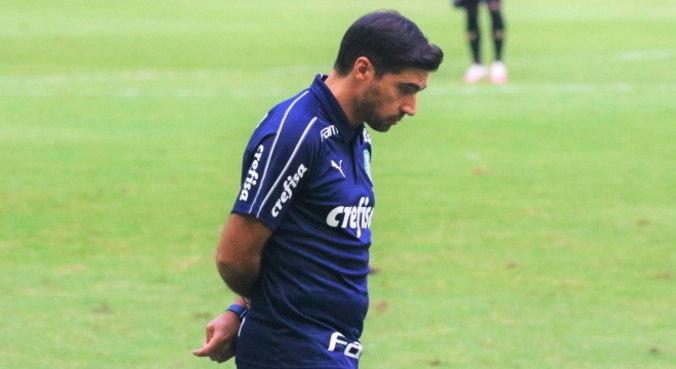 Abel Ferreira colocou time mista contra Ceará e perdeu por 2 a 1