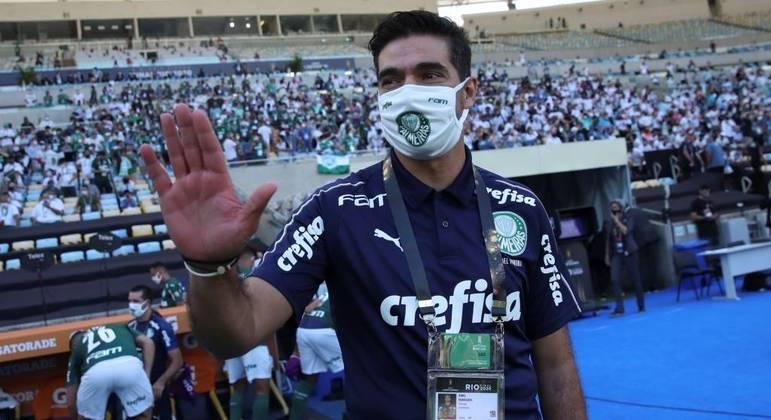 Abel Ferreira, o treinador do Palmeiras
