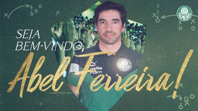 Abel Ferreira apresentado como técnico do Palmeiras. Um novato português