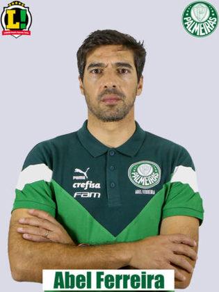 Abel Ferreira - 5.5 - Escalou a equipe pensando em jogo decisivo da Libertadores e foi expulso por questionar a arbitragem após uma expulsão duvidosa.